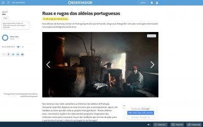 Projeto Portugal Rural no Observador online
